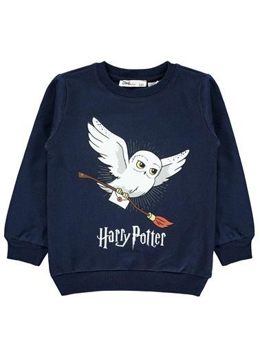 Harry Potter Kız Çocuk Sweatshirt Lacivert